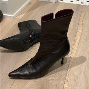 Gucci stiletto booties